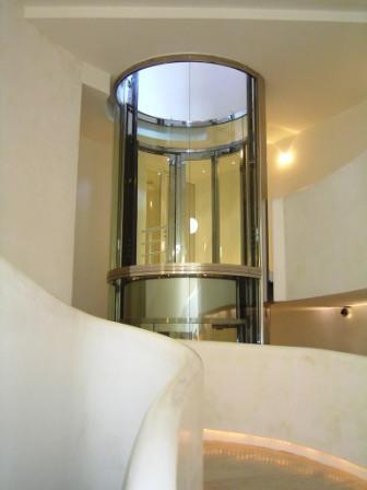ascenseur panoramique inox
