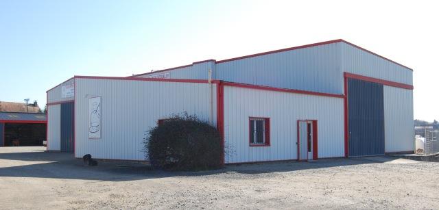 Notre bâtiment Chaudronnerie