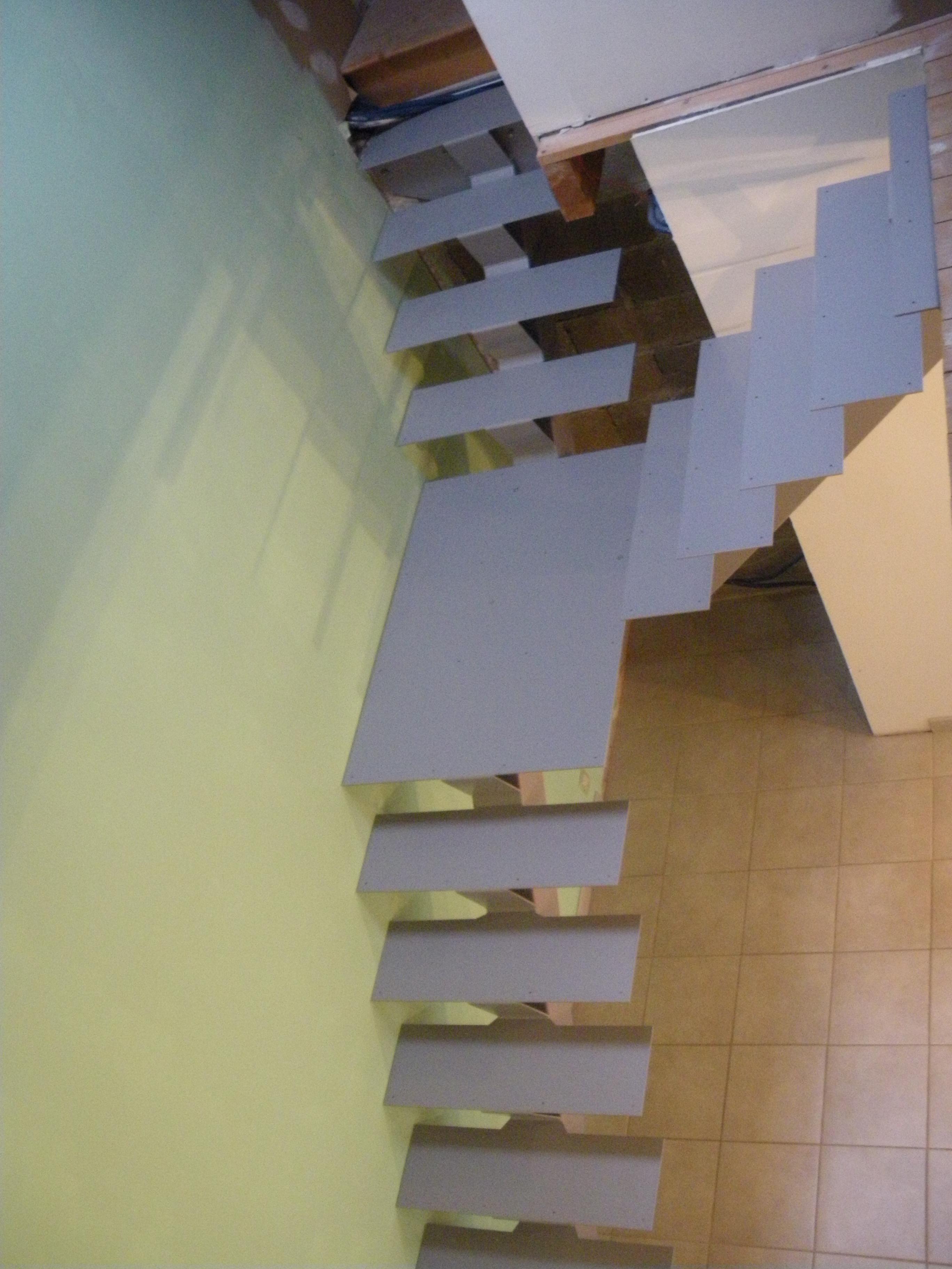 escalier acier Y