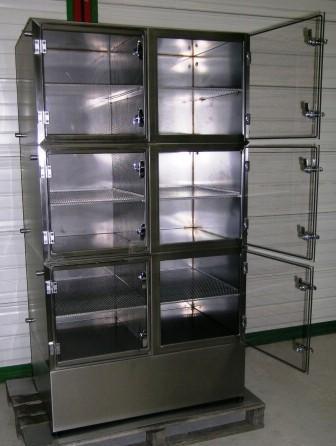 armoire inox makrolon